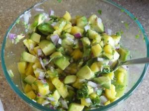 pineappleavocado salsa